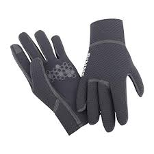 Amazon Com Simms Kispiox Glove Black Size S Sports