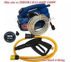 Máy rửa xe cao áp HIKORA HA2-668H-Công suất 1680W-Bảo hành 6 tháng-Máy rửa  xe gia đình