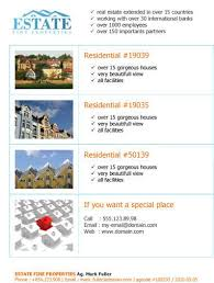 Flyer For 14 Free Flyers For Real Estate Sell Rent