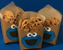 Decorative Cookie Boxes Cookie monster box Etsy 95