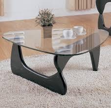 homelegance chorus 2 piece glass coffee table set