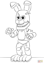 Fnaf World Coloring Pages Five Nights At Freddys 01 Pinterest