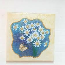 wall arts daisy wall art the foundation stickers