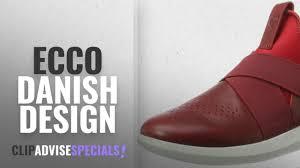 Ecco Danish Design Womens Top 5 Ecco Danish Design 2018 Ecco Womens Womens Scinapse Band Fashion Sneaker Chili