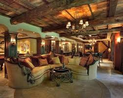 D Rustic Basement Ceiling Ideas With