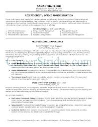 medical receptionist duties for resume resume samples receptionist sample medical receptionist resume