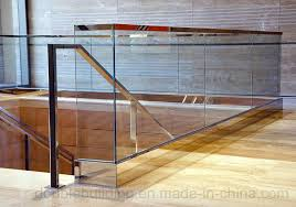 stainless steel glass clamp frameless glass barade balcony railing