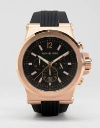 michael kors shop michael kors for men s watches michael kors michael kors mk8184 oversized dylan silicone chronograph watch