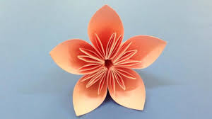 Paper Flower Making Video Origami How To Make A Kusudama Paper Flower Easy Origami Kusudama