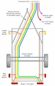 5 way trailer wiring harness diagram