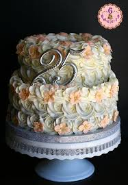 Silver Wedding Cakewould Love This For My Actual Wedding Cake