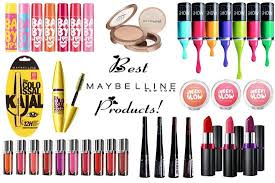 maybelline top 50 cosmetic panies available in india