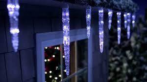 Home Depot Christmas Icicle Lights Icicle Lights Youtube