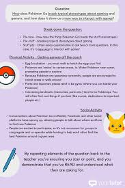 how to write an amazing essay on pokemon go  sample essay question method 1