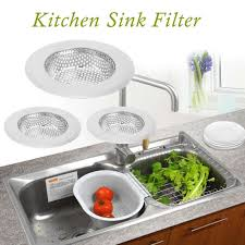 2pcs kitchen sink strainer stainless steel sink filter small