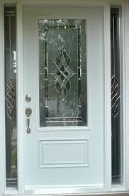 single exterior doors with glass. Exellent Glass Single Front Doors With Glass Living Room White Wooden Door  2 Chrome Crafts   And Single Exterior Doors With Glass N