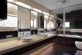 large modern bathroom. Modern Home Interior Design Bathroom Mirrored With Large Tub Ideas B