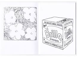 gfeller andy warhol coloring book