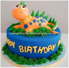 Dinosaur Kids Birthday Cake In Sydney Birthday Cakes For Kids