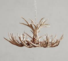faux antler chandelier saved view larger