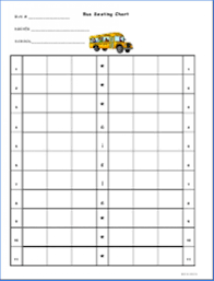 School Bus Seating Chart 015 Restaurant Seating Chart Template Word Ideas Head Table