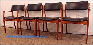 4 piece dining chair set awesome mid century dining chairs danish mid century dining chairs danish modern teak erik buch od