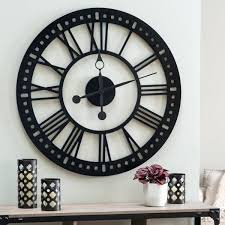 30 large wall clocks that dont compromise on style 40 inch round wall clocks