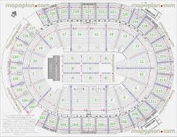 Philips Arena Map Rows Maps Template Sample Gpyg6bmz3n