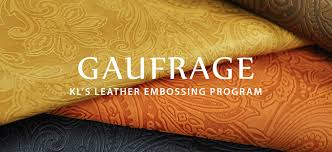 our leather embossing program