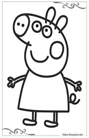 Kleurplaat Peppa Pig Printen