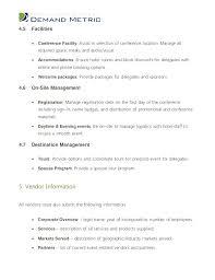 Sample Vendor Application Template Free Download Form Standard