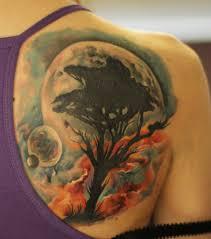 тату дерево значение фото эскизы и примеры для девушек и мужчин