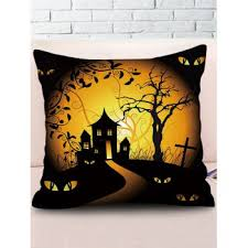 [24% OFF] 2020 <b>Square Halloween Gothic Pillow</b> In Multicolor C ...
