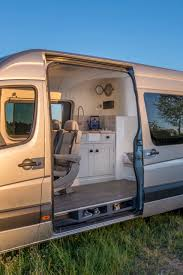 Converted Vans Gallery Of The Sprinter Camper Van Conversion Built In Oxford