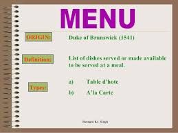 Types Of Meals All Notes Of Ihm Hamirpur Himachal Pradesh Bsc 2nd Semester Meals