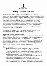 Personal Statement Sample For Resume 24 Resume Personal Statement Sample Lock Resume 11