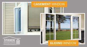 casement vs sliding windows picture