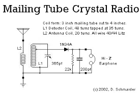 dave s homemade radios crystal schematic selector dave s 13 crystal radio schematic