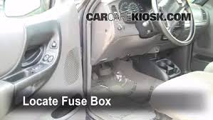 interior fuse box location 1998 2005 ford ranger 1999 ford interior fuse box location 1998 2005 ford ranger 1999 ford ranger xlt 4 0l v6 extended cab pickup 4 door