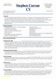Graphic Designer Resume Sample Word Format Awesome Cv Resume