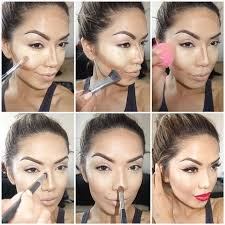 makeup ideas with makeup step by step foundation with amazing face makeup tutorial art step by