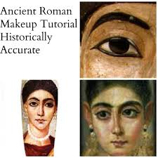 Ancient Roman Hair Style ancient roman makeup tutorial historically accurate youtube 8683 by wearticles.com