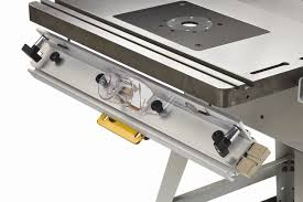 bench dog router table. bench dog 40-102 promax router table fence rear view showing 2-1/2\ t