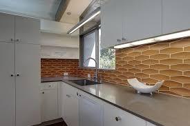 Modern Kitchen Interior Design Enchanting Kitchen Lighting Over Sink Light Elliptical White Mid Century K C R