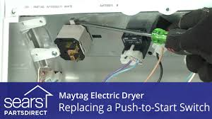 how to replace a tag electric dryer push to start switch how to replace a tag electric dryer push to start switch
