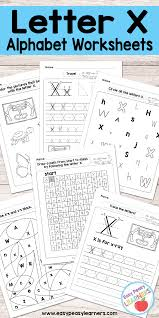1241 x 1753 png 445 кб. Letter X Worksheets Alphabet Series Easy Peasy Learners