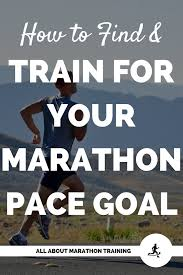 Your Marathon Pace Goal How To Find It And How To Train For It