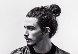 the typical man bun haircut source