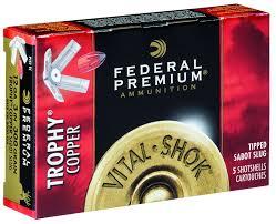 Sabot Slug Ballistics Chart Buy Vital Shok Trophy Copper Sabot Slug For Usd 17 95