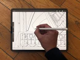 Drawing On Ipad Pro Ipad Pro 12 9 Inch 2018 And Apple Pencil 2 Review What